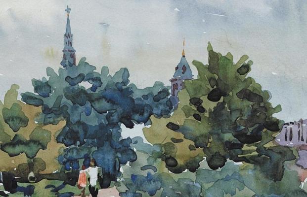Ромодановская Антонина Алексеевна. Москва.