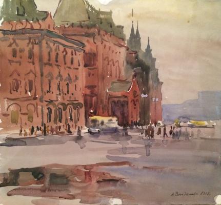 "Romodanovskaya A. ""Moscow. Museum named after VI Lenin."""