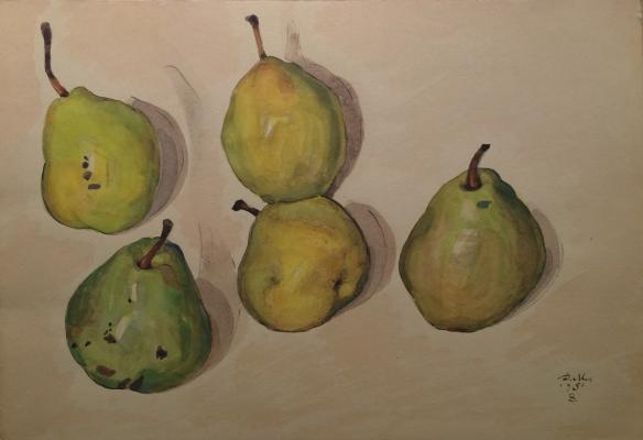 """Mitrokhin D. I. """"Pears."""""""