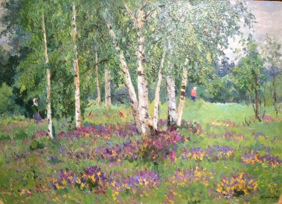 "Skorubskaya N. V. ""Birch Grove."""