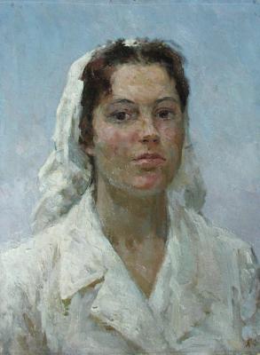 """Bogdanov A. N. """"Milkmaid"""""""