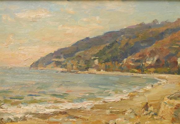 "Bogdanov A. N. ""Gagra. Sunset on the sea."""