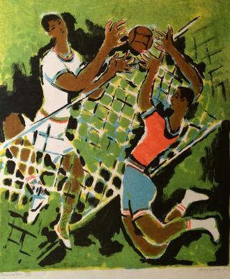 """Vedernikov A. S. """"Volleyball"""""""