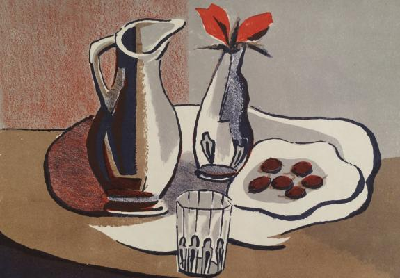 "Vedernikov A. S. ""Still life with faceted glass."""