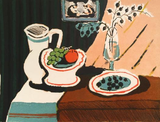 "Vedernikov A. S. ""Still life with berries currants."""