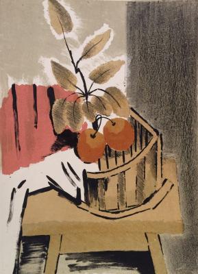 """Vedernikov A. S. """"Branch with apples."""""""