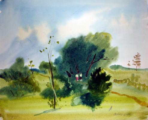 """Vedernikov """"Summer Landscape"""""""