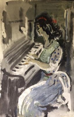 """Vedernikov A. S. """"Pianist."""""""