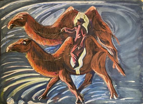 Джемаль Джаид Шамиль Оглы. Верблюды