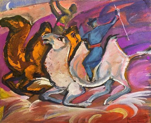 Джемаль Джаид Шамиль Оглы. Скачки на верблюдах