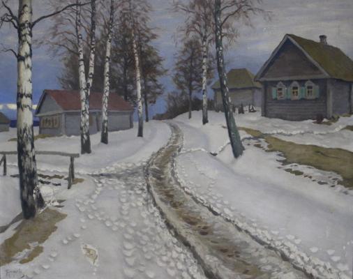 Гермашев (Бубело) Михаил Маркианович. Деревня.