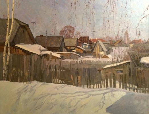 """Titov A. M. """"March in the village"""""""