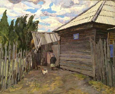Титов Анатолий Михайлович. У околицы