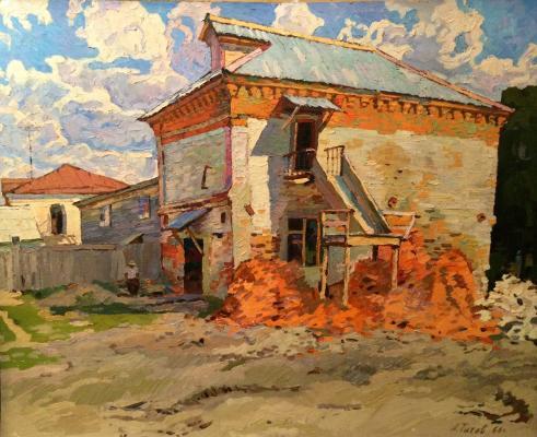 Титов Анатолий Михайлович. Реконструкция старинного дома