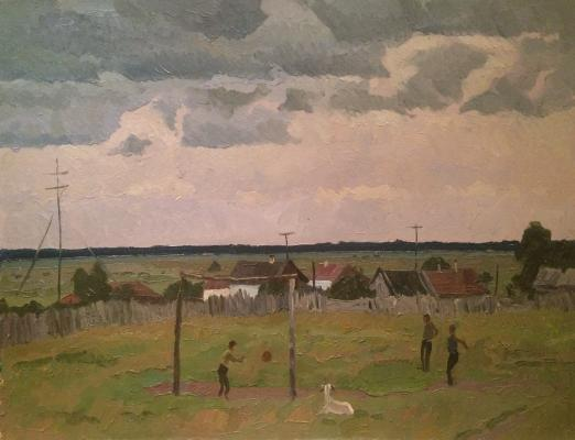 "Titov A. M. ""Playing football"""
