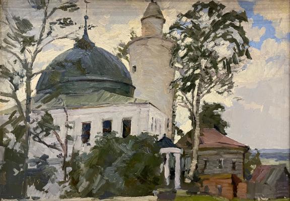 Титов Анатолий Михайлович. Ханская мечеть в Касимове.