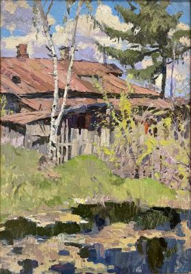 "Titov ""Overgrown pond in the village."""