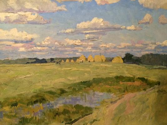 "Titov A. M. ""Clouds over the river"""