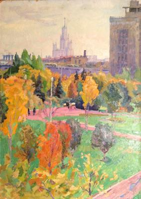 "Titov A. M. ""Moscow autumn."""