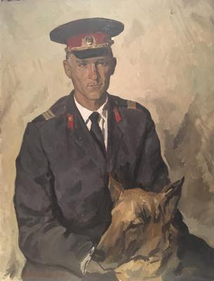 "Titov A. M. ""The policeman."""