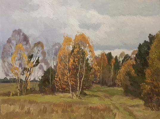 Титов Анатолий Михайлович. Осень
