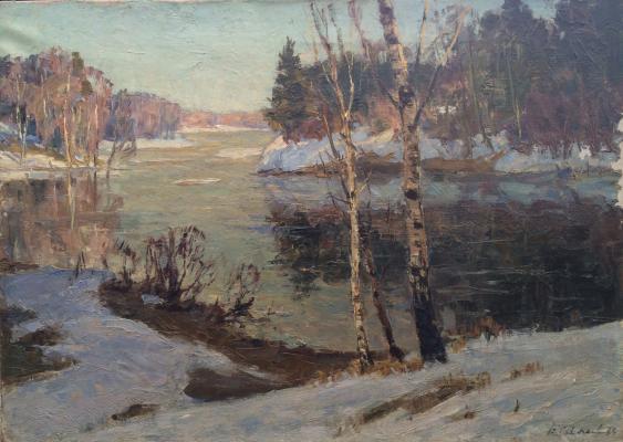 Соколов Василий Васильевич. Мартовский снег