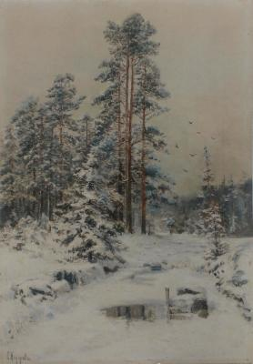 "Fedorov S. F. ""Winter Forest"""