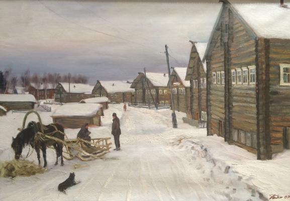 """Chaynikov G. L. """"Kizhma. At Mizen."""""""