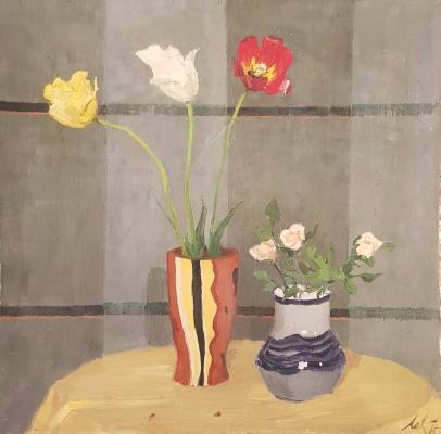 Левитин Анатолий Павлович. Три тюльпана