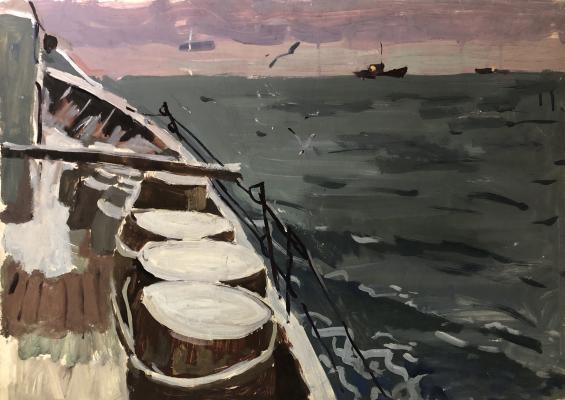 Назаров Константин Борисович. В море