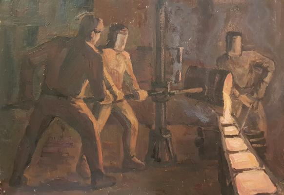 Назаров Константин Борисович. В сталепрокате