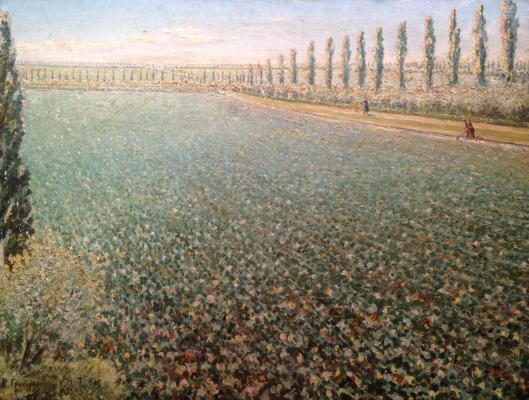 "Grigoryants K. ""Cotton field"""