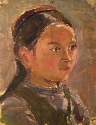 """Grigoryants K. """"Uzbek girl."""""""