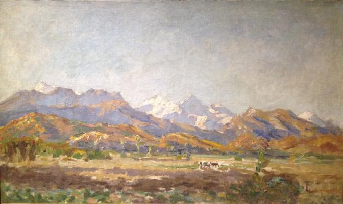 "Grigoryants K. ""Caucasian valley."""