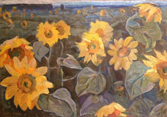 "Kozlenkov Y. A. ""Sunflowers"""
