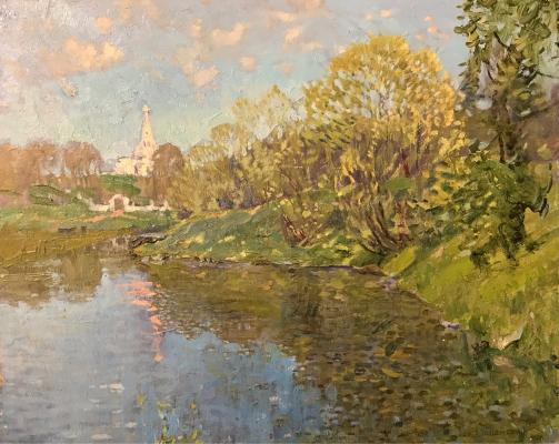 "Uspensky L. A. ""On the Msta river"""