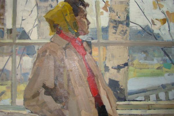 "Frolov  ""On the veranda"""