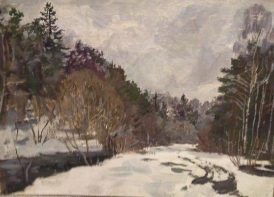 Фролов Константин Петрович. Зима