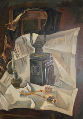 "Bobylev S. Y. ""Still Life with a miner"""
