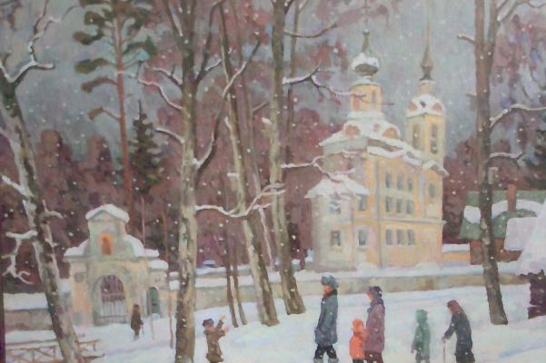 "Gusev N. L. ""The whole family. The village of St. Nicholas Berezhki."""