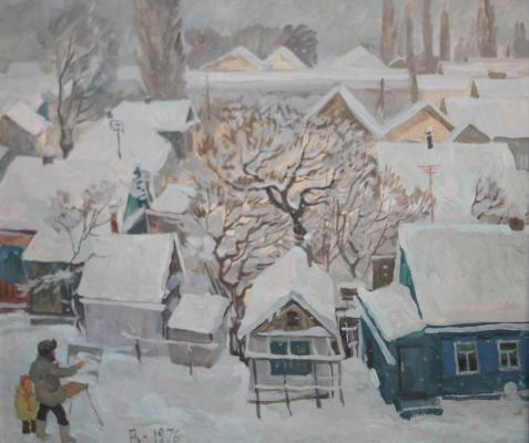 "Gusev N. L. ""Snowing. Hot key."""
