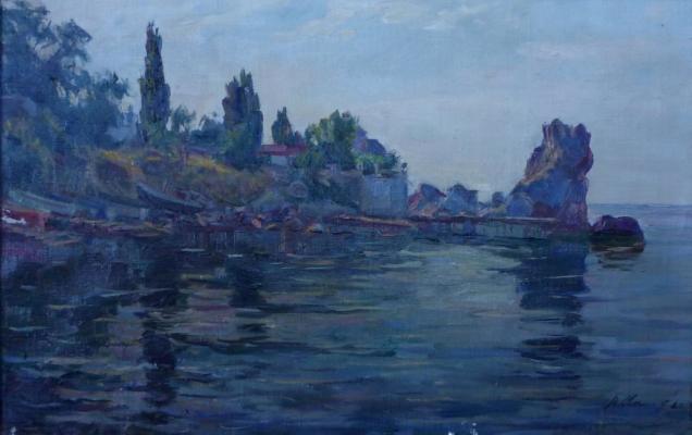 Соколов Виктор Павлович. Морской пейзаж