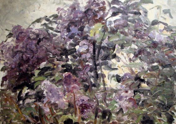 """Shemyakin M. F. """"Lilac ."""""""