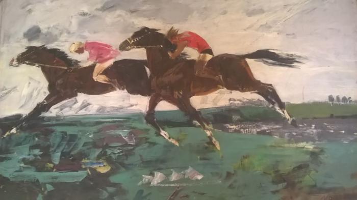 "Moiseyev G. V. ""Horse Racing"""