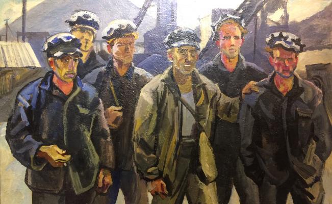 """Korzhevsky B. G. """"Miners."""""""