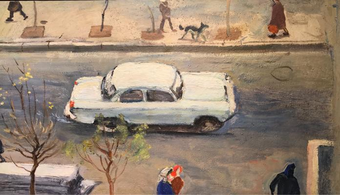 "Korzhevsky B. G. ""Moscow street"""