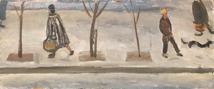 """Korzhevsky B. G. """"City landscape"""""""