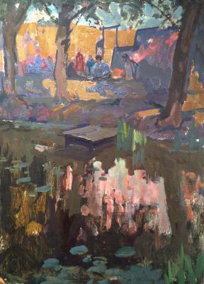 """Shcherbakov V. V. """"At the pond."""""""