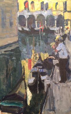 """Shcherbakov V. V. """"On Bridge. Venice."""""""