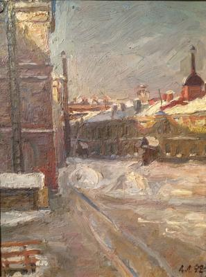 "Lobkovsky A. A. ""The sun in the besieged Leningrad."""